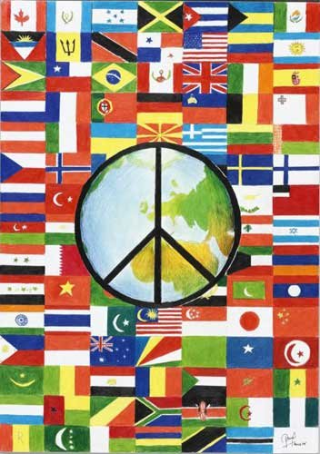 world peace symbol